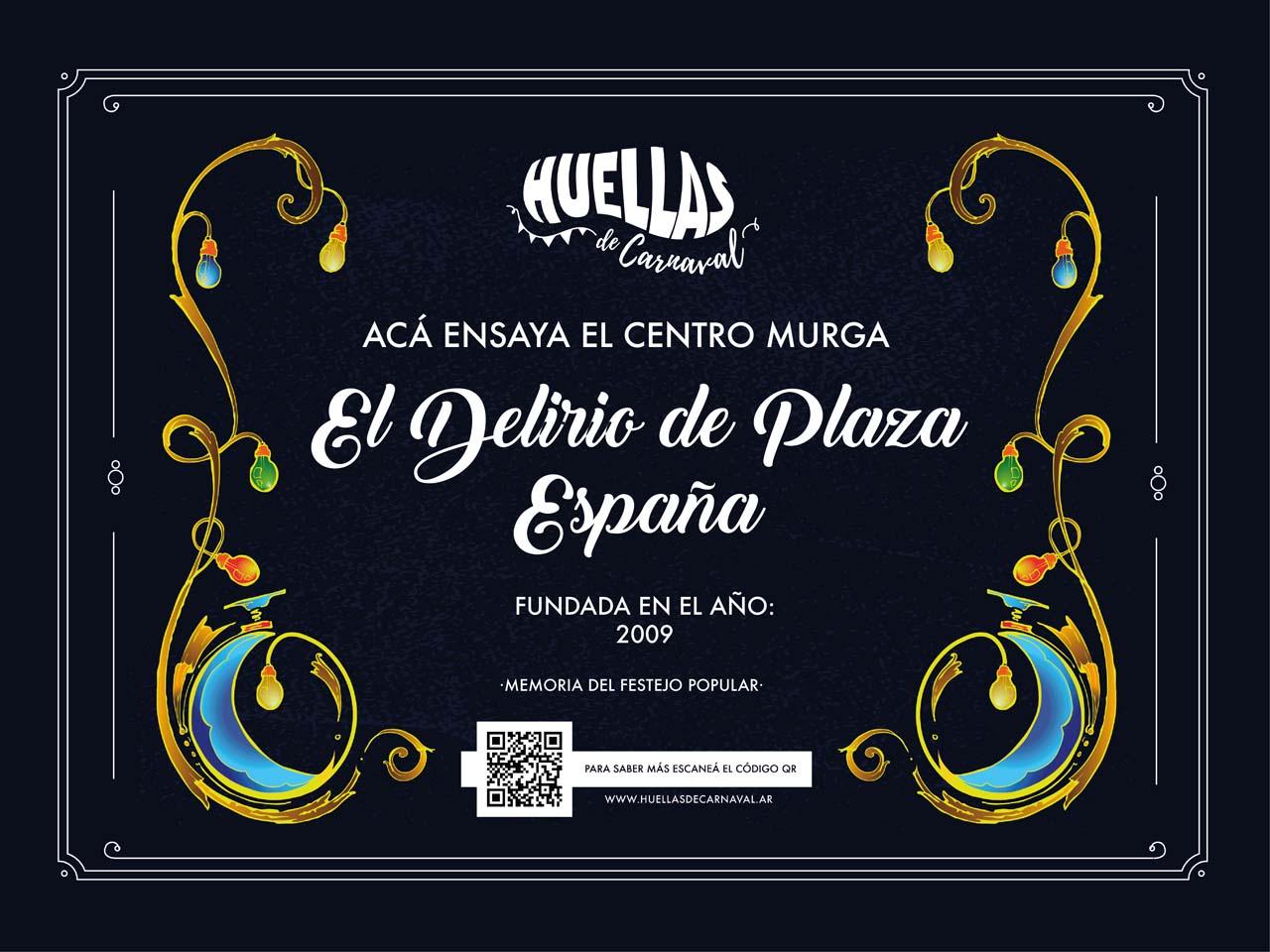 Centro Murga El Delirio de Plaza España