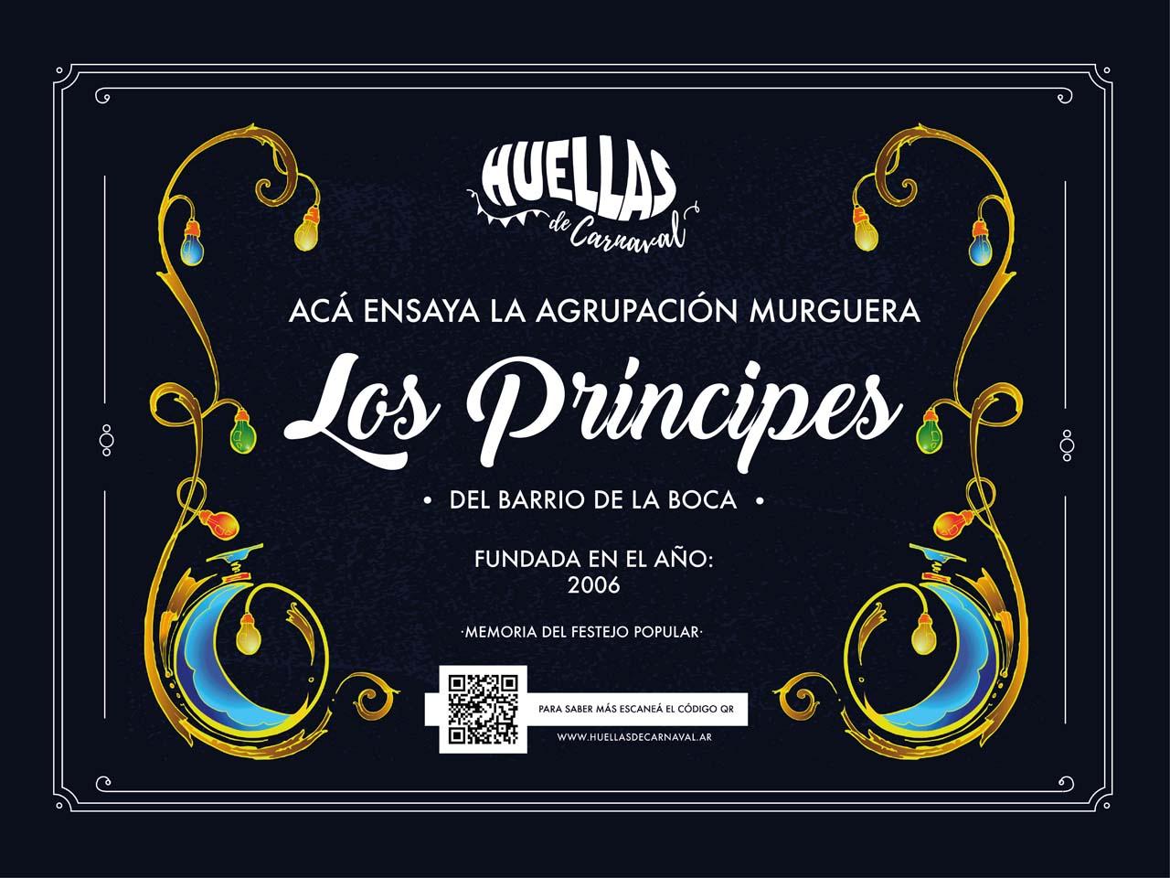 Agrupación Murguera Los Príncipes de La Boca